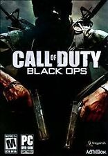 """LOOK"" !!  Call of Duty: Black Ops (PC, 2010) game in good shape with manual !!!"