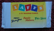 Unopened Pack LAFFS TV Show Cards ~ Perfect Strangers Full House Family Matters