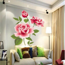 UK Rose Flower Wall Stickers Removable Decal Home Decor DIY Art Decor 500×700mm