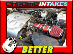 CF RED 2004 2005 CADILLAC DEVILLE ALL MODELS WITH 4.6 4.6L V8 AIR INTAKE KIT