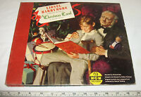 VINTAGE LIONEL BARRYMORE A Chistmas Carol RECORD SET  1940'S