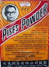 3g Acne Pimple Treatment PISES POWDER Parachute Brand Thai Product Free Shipping