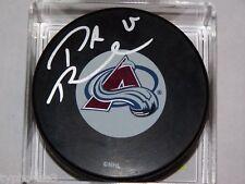 P.A Parenteau (Colorado Avalanche) signed logo puck w/ COA
