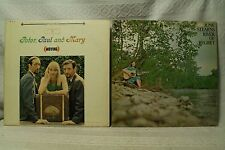 lot 2lp records June Stearns River of Regret country Peter Paul and Mary Moving