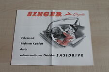 159383) Singer Gazelle - reprint - Prospekt 199?