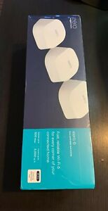 Eero 6 AX1800 Dual-Band Mesh Wi-Fi 6 System (3-pack) M110311 (E10011177) NEW