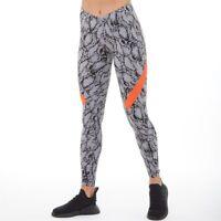 Adidas by Stella McCartney Alphaskin Performance Tight Snake Orange size M 12-14
