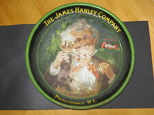 "Beer Tray Hanleys Peerless Ale ""The Connoisseur"" Prov. RI  1940's  USA Barware"