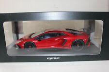 Kyosho 1/18 Lamborghini Aventador LP750-4 Superveloce SV Red C09521R