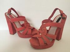RMK Very High (4.5 in. and Up) Suede Heels for Women