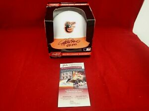 Rafael Palmeiro Signed Auto Orioles Mini Batting Helmet W/569 HRs  JSA WIT628552