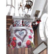 Bettwäsche Set Baumwolle Renforce 4 tlg 200x220 3D Bella Bettbezug Cotton Box
