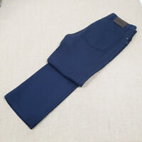Current ERMENEGILDO ZEGNA Navy Blue 5 Pocket Wool Jeans W 32 L 29