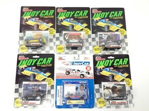 1989 Racing Champions Indy Car Die Cast 1:64 Car - 6 Car Lot - Andretti
