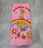 Vintage Rainbow Brite Pink Sleeping Bag 80s Retro