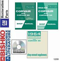 CORVAIR 1962 - 1963 Wiring Diagram 62-63 | eBay