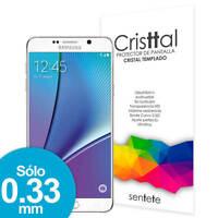 Sentete® Samsung Galaxy Note 5 Protector de Pantalla de Cristal Templado PREMIUM