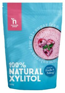 Naturally Sweet Xylitol 500g Pouch