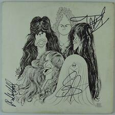 Aerosmith Signed Autograph  Album Record JSA Steven Tyler Whittford Hamilton