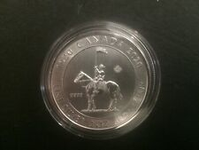 2020 Canada 2oz $10 Royal Canadian Mounted Police RCMP Silver Bullion Coin