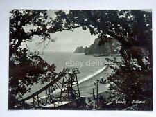 TRIESTE SISTIANA spiaggia scivolo vecchia cartolina
