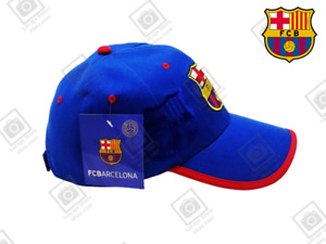 FC BARCELONA HAT CUP FCB GIFT ACCESSORIES SOUVENIR FAN BRAND NEW CLUB LOGO CREST