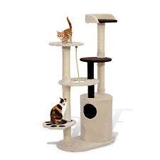 "New 55"" Cat Tree Tower Scratching Post Condo Furniture Pet Kitty Play House Toy"
