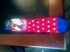 Men's Lot of 5 Novelty Print  Crew Socks President Donald Trump  NEW Sz 10-13