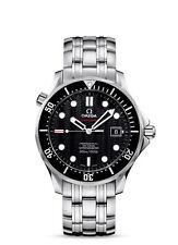 Runde Omega Seamaster Armbanduhren