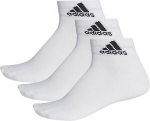 adidas Performance Thin Ankle Junior Training Socks - White