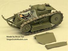 Ww1 Ford 3-ton, 2 man Tank 1918 Criel Meng Tamiya Resicast Blitz