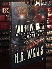 The War of the Worlds & Other SciFi Classics by H.G. Wells New Hardback Edition