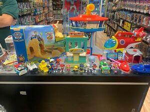 Massive Paw Patrol Toy Lot
