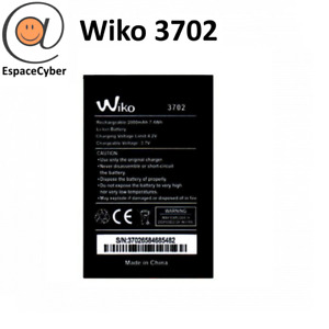 Battery Wiko 3702 Lenny 3/Jerry / Lenny 1 2 - 2000 MAH