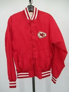 G9644 VTG Kansas City Chiefs NFL-Football Quilted Lined Jacket Made USA Size XL