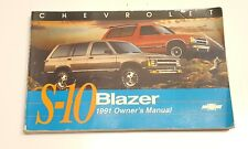other manuals literature for chevrolet blazer s10 ebay rh ebay com 2004 Chevy Blazer 2004 Chevy Blazer Review