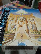 Iron Maiden Powerslave Japan Lp Obi, Re listed due to time waster