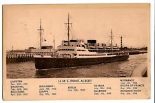 H.M.S. Prins Albert - viaggiata per la Cecoslovacchia