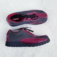 Women's Levi's Red Tab Leather Denim Lace-up Shoes Trainers Comfort EUR 37 UK 4