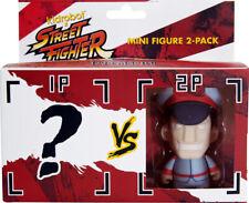 Kidrobot Street Fighter M. BISON Mini Figure 2-Pack Blind packed opponent NIP