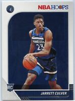 2019-20 Panini HOOPS Basketball #203 Jarrett Culver RC Minnesota T-Wolves
