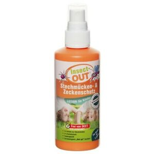 Insect-OUT Mückenschutz Zeckenschutz Kids 100ml Insektenschutz Insektenspray