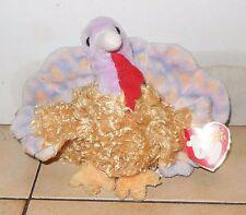 TY tommy the turkey Beanie Baby plush toy