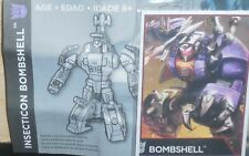 Transformers Combiner Wars BOMBSHELL Bio card Manual