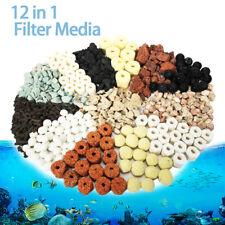 420G 12 in 1 Fish Tank Aquarium Bio Balls Filter Media Ceramic Biological w/ Bag