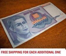 Yugoslavia Yugoslavian 500000 Dinara 1993 Paper Money