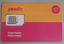 Koodo Multi Sim Card - Postpaid only - NOT for Pay-as-You-Go