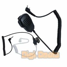 Two Way Palm Speaker Mic for Kenwood Tk-208 220 240 248 250 with Coil Cord Tube