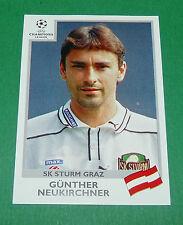 N°110 NEUKIRCHNER SK STURM GRAZ PANINI FOOTBALL CHAMPIONS LEAGUE 1999-2000