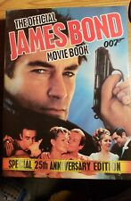 The Official JAMES BOND 007 Movie Book Hard Cover Roger Moore